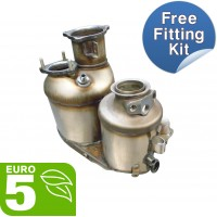 Audi A4 diesel particulate filter dpf oe equivalent quality - AUF144