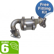 Opel KARL catalytic converter oe equivalent quality - GMC1105